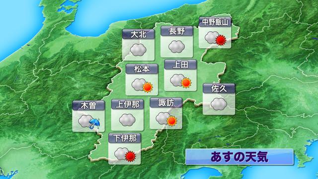 長野県の天気